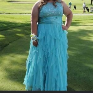 My beautiful prom dress from 2 years ago